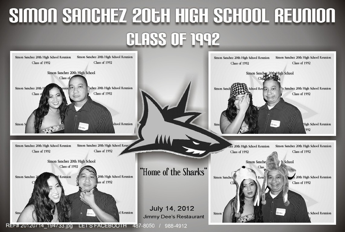 let's facebooth - SIMON SANCHEZ 20TH HIGH SCHOOL REUNION